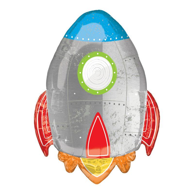 Anagram Balon foliowy 73 cm - rakieta - Pan Talerzyk