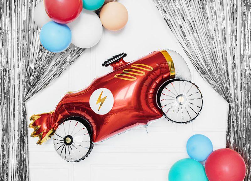 PartyDeco Balon foliowy auto - 93 cm - Pan Talerzyk