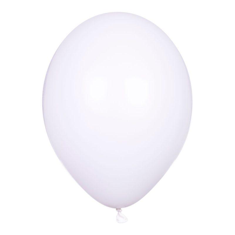 PartyDeco Balony białe pastelowe 30 cm - Pan Talerzyk