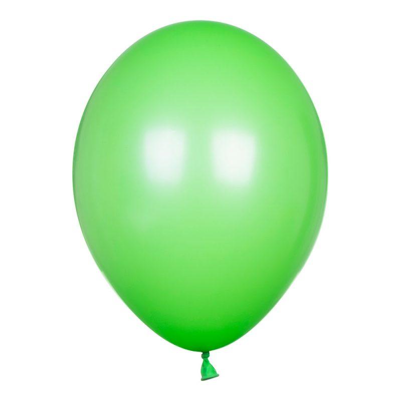 PartyDeco Balony jasnozielone pastelowe 30 cm - Pan Talerzyk