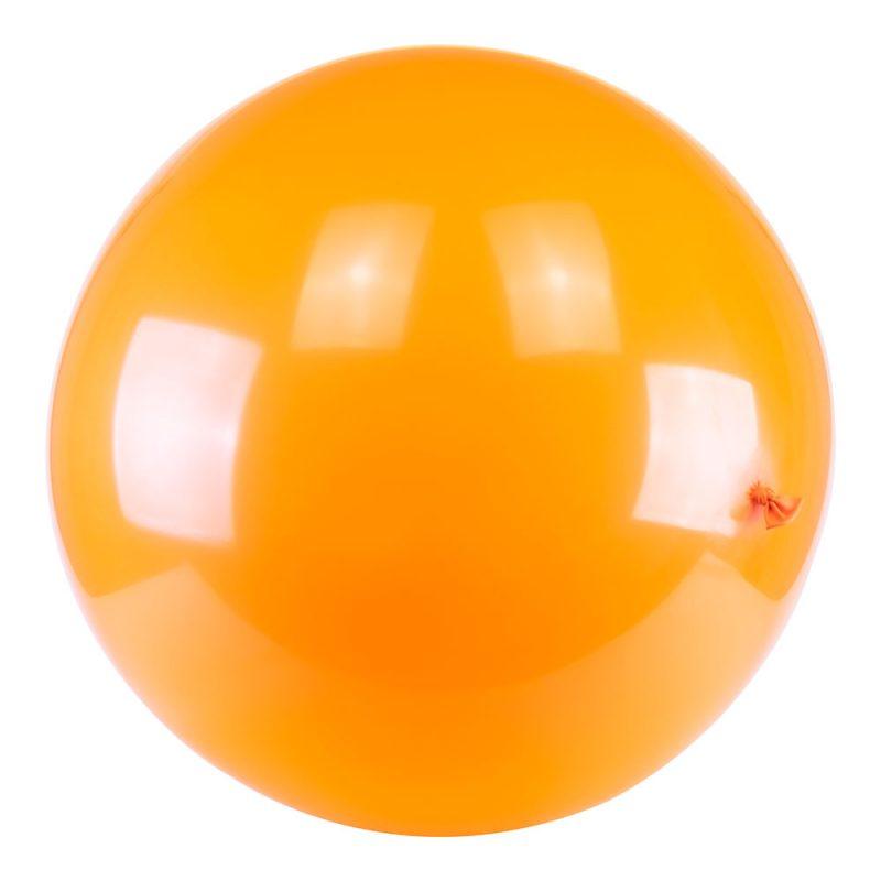 PartyDeco Balon pastelowy gigant 1 m - pomarańczowy - Pan Talerzyk