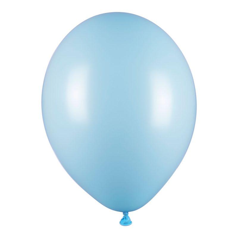 PartyDeco Balony błękitne macarons 30 cm - 10 sztuk - Pan Talerzyk