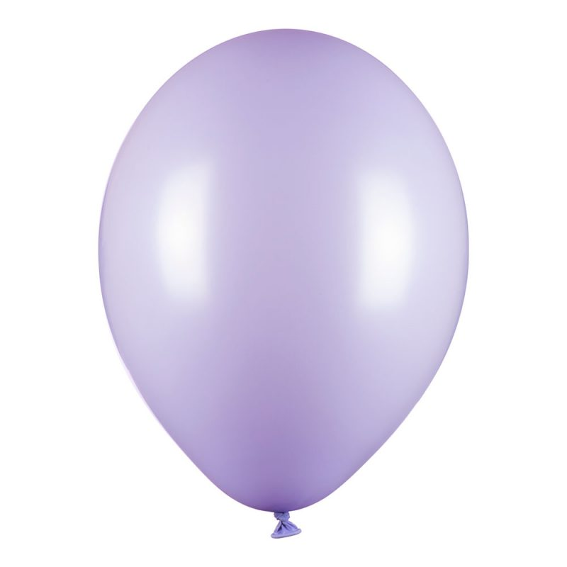 PartyDeco Balony fiołkowe macarons 30 cm - 10 sztuk - Pan Talerzyk