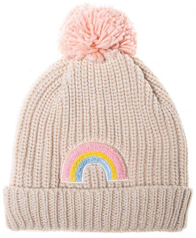 Rockahula Kids Czapka zimowa Dreamy Rainbow Knit Bobble - Pan Talerzyk