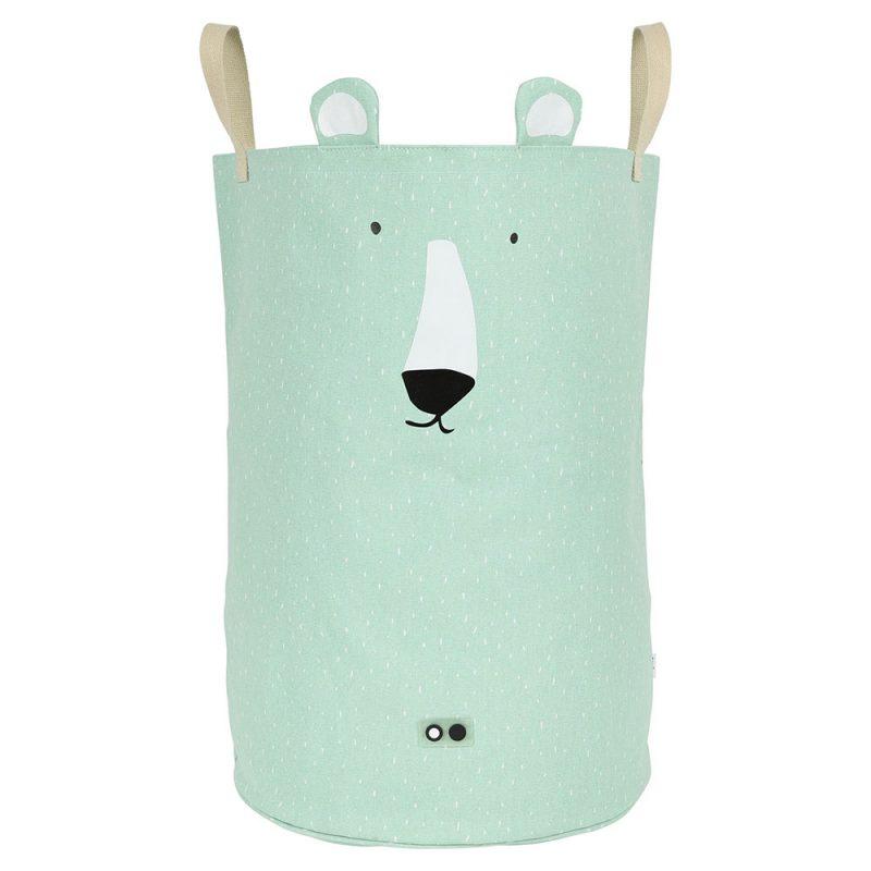 Trixie Baby Duży kosz na zabawki Mr. Polar Bear - Pan Talerzyk
