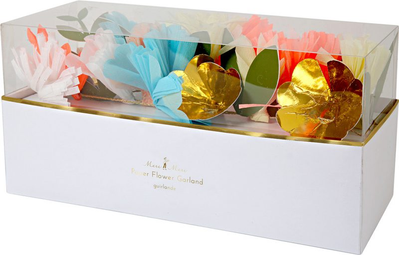 Meri Meri Girlanda bukiet kwiatów - Pan Talerzyk