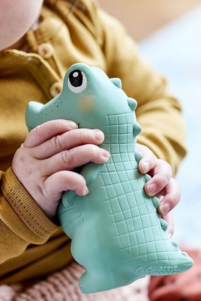 Petit Monkey Gryzak z grzechotką Krokodyl Charlie - Pan Talerzyk