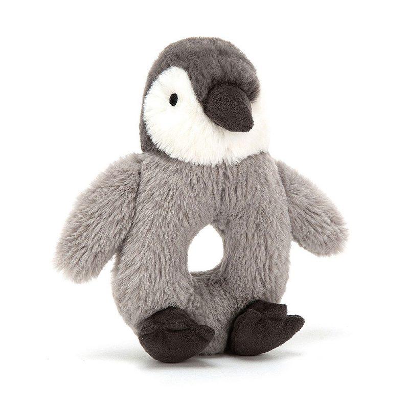 JellyCat Grzechotka pingwin Percy 13 cm - Pan Talerzyk