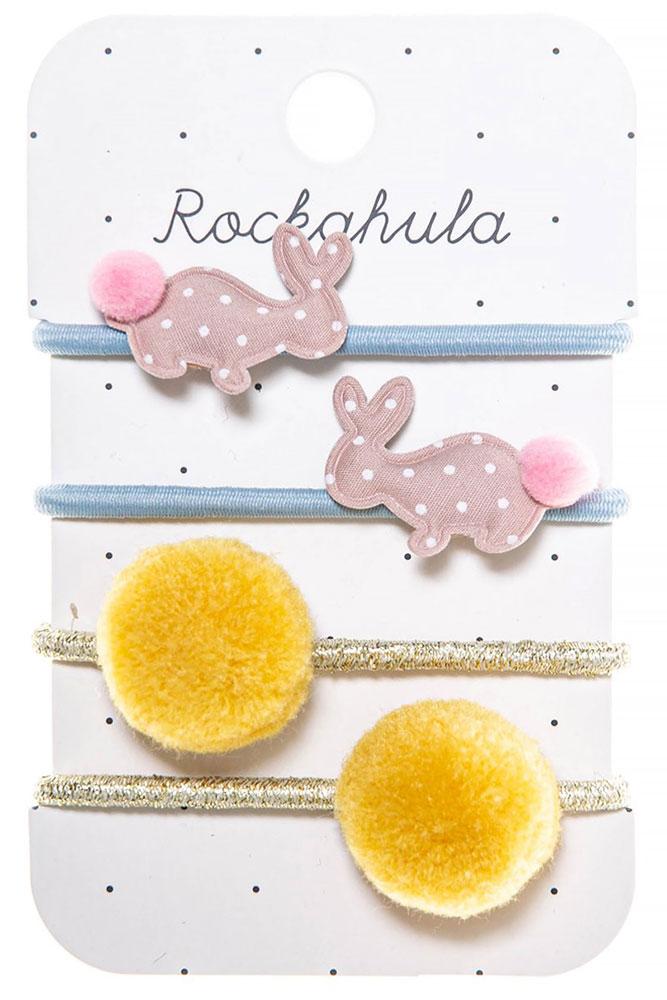 Rockahula Kids Gumki do włosów Hoppy Bunny - Pan Talerzyk