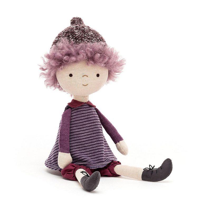 JellyCat Jeżynowa lalka 30 cm - Pan Talerzyk