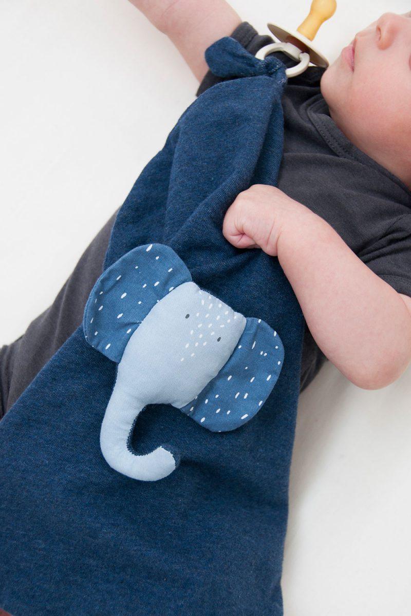 Trixie Baby Koc - przytulanka Mrs. Elephant - Pan Talerzyk