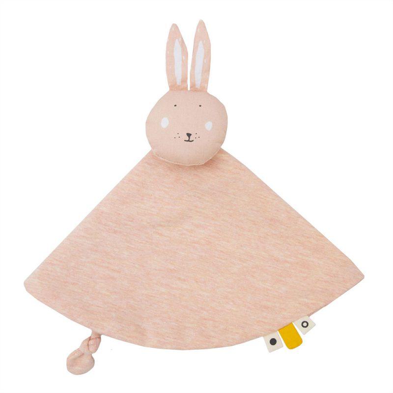 Trixie Baby Kocyk - przytulanka Mrs. Rabbit - Pan Talerzyk