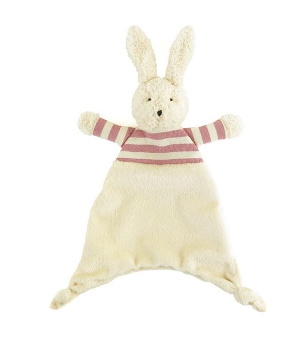 JellyCat Kocyk przytulanka królik 23 cm - Pan Talerzyk