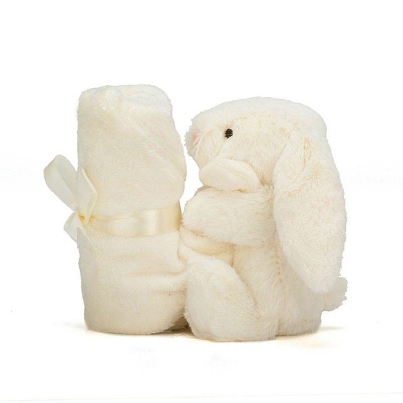 JellyCat Kocyk przytulanka z królikiem 34 cm - Pan Talerzyk
