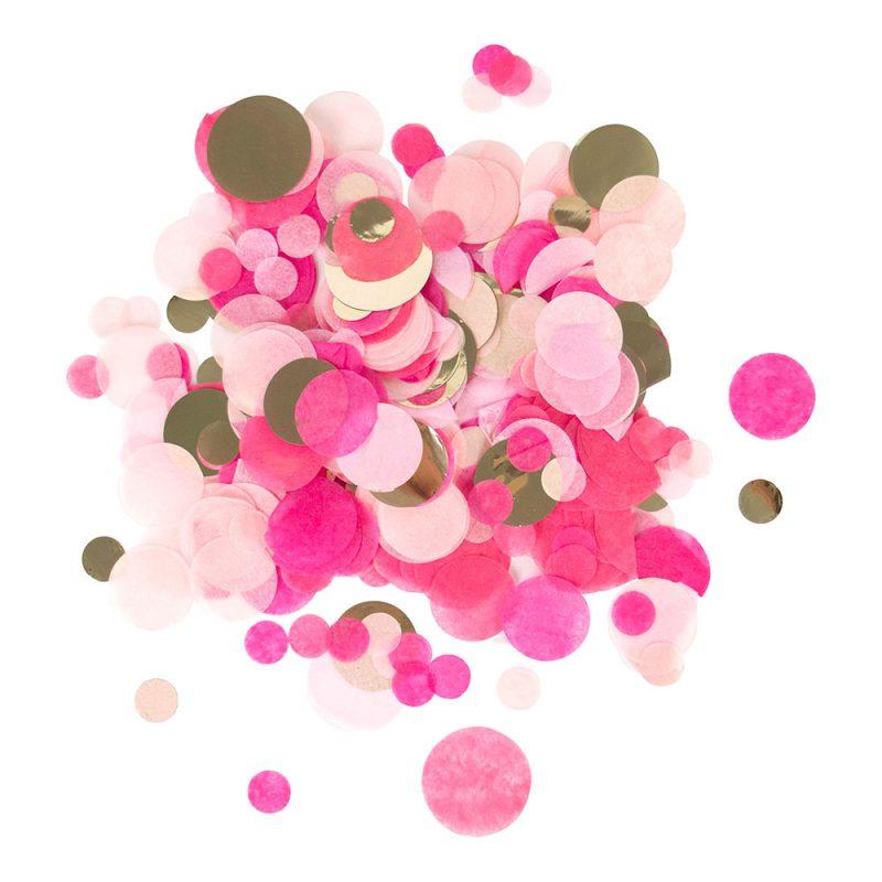 My Little Day Konfetti różowe - Pan Talerzyk