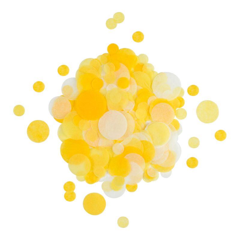 My Little Day Konfetti żółte - Pan Talerzyk