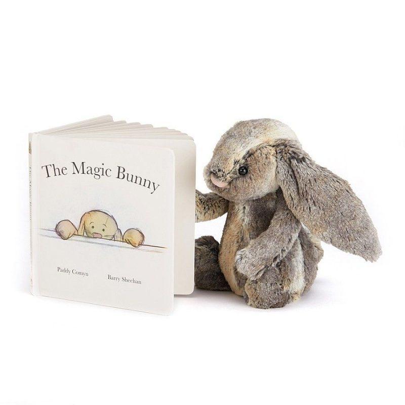 "JellyCat Książka "" The Magic Bunny - Pan Talerzyk"