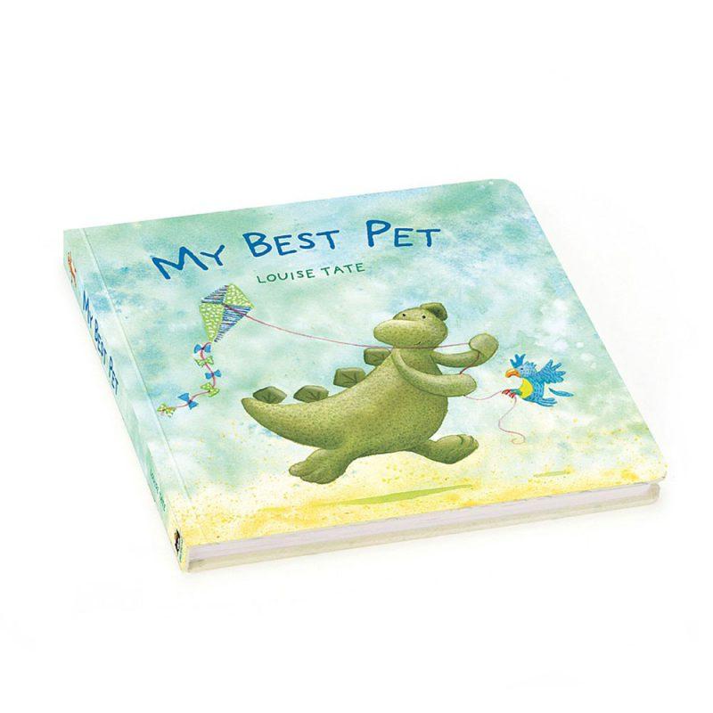 """JellyCat Książka """"The best pet book - Pan Talerzyk"""