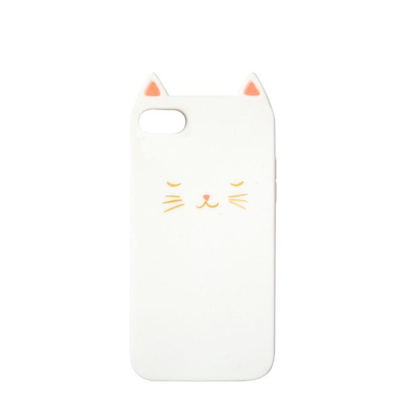 Meri Meri Etui na iPhone Kot (6 7 & 8) - Pan Talerzyk