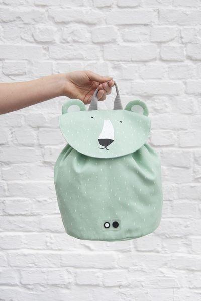 Trixie Baby Mini plecak Mr. Polar Bear - Pan Talerzyk