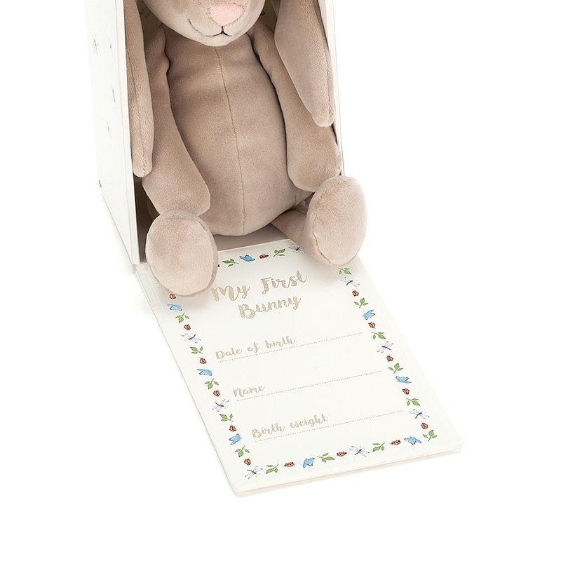 JellyCat Mój pierwszy królik przytulanka 19 cm - Pan Talerzyk