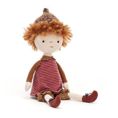 JellyCat Morelowa lalka 30 cm - Pan Talerzyk