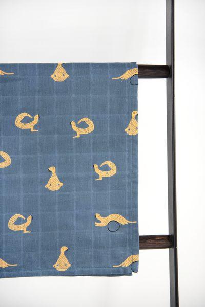 Trixie Baby Otulacze muślinowe 110 x 110 cm Whippy Weasel - Pan Talerzyk
