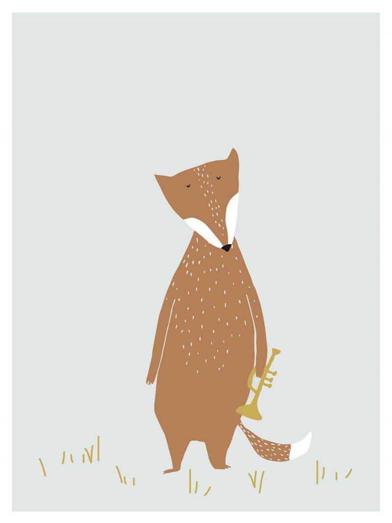 Trixie Baby Plakat Mr. Fox - Pan Talerzyk