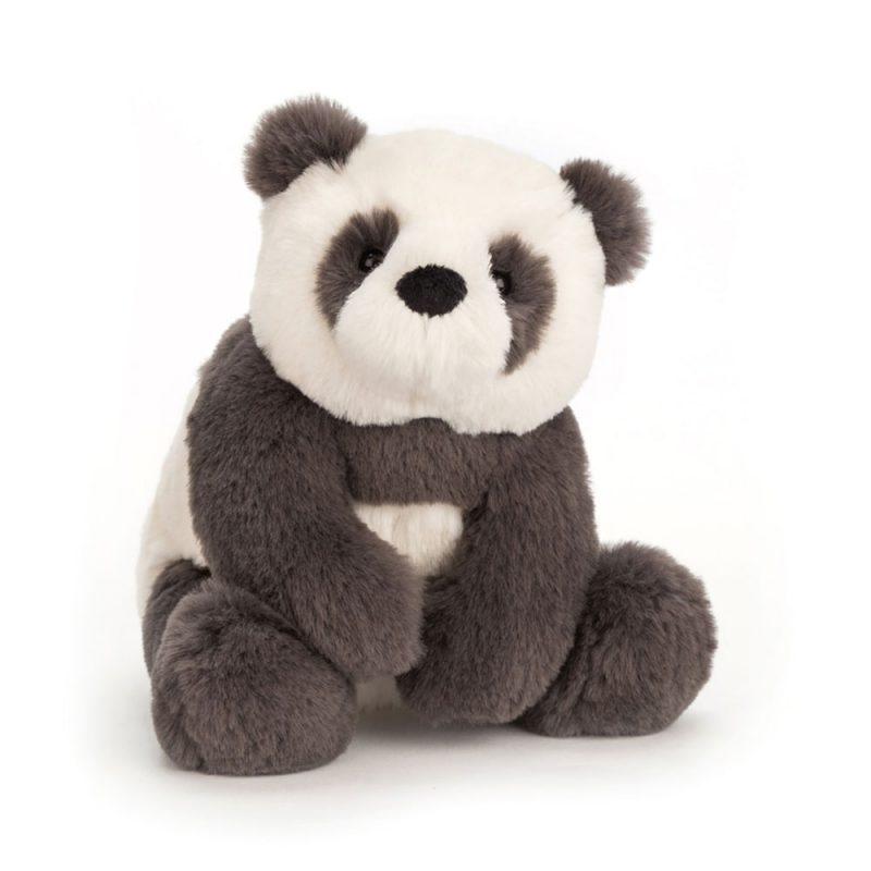 JellyCat Przytulanka panda Harry 19 cm - Pan Talerzyk