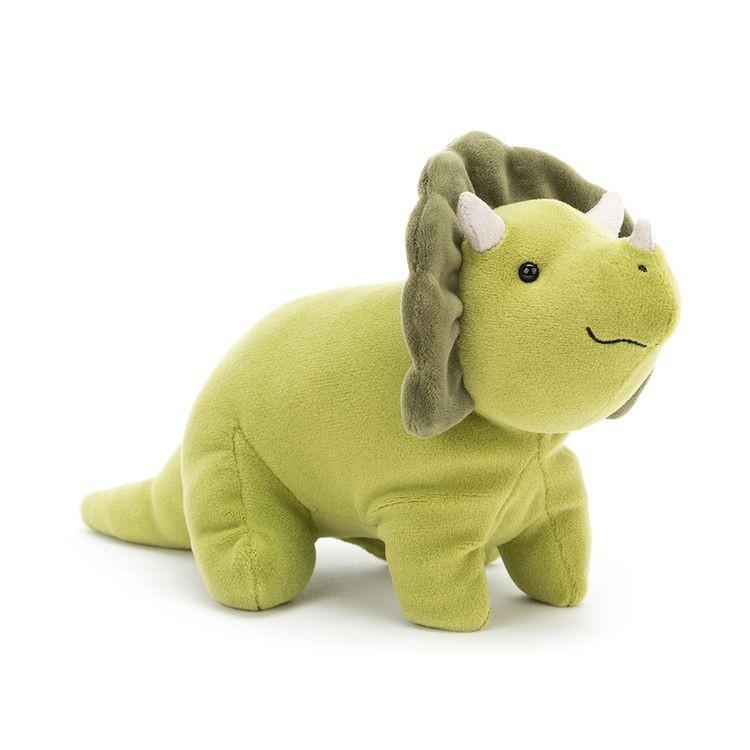 JellyCat Przytulanka Triceratops Mellow 18 cm - Pan Talerzyk