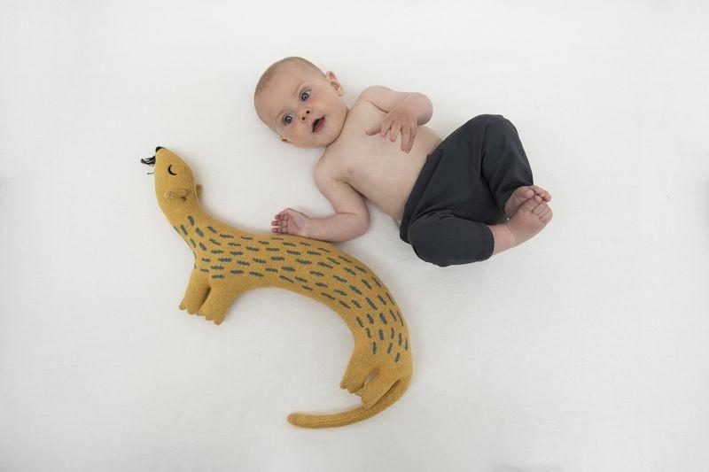 Trixie Baby Przytulanka Whippy weasel - Pan Talerzyk