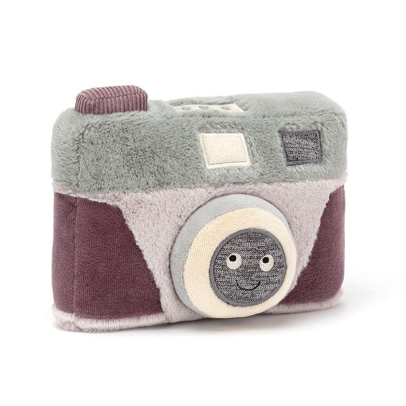 JellyCat Przytulanka aparat fotograficzny Wiggedy 17 cm - Pan Talerzyk