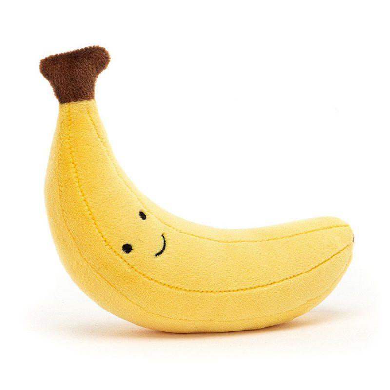 JellyCat Przytulanka banan Fabulous 17 cm - Pan Talerzyk