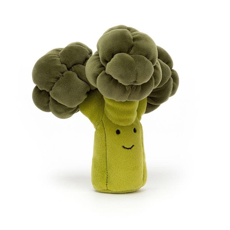 JellyCat Przytulanka brokuł 17 cm - Pan Talerzyk