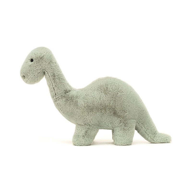 JellyCat Przytulanka brontozaur Fossilly 26 cm - Pan Talerzyk