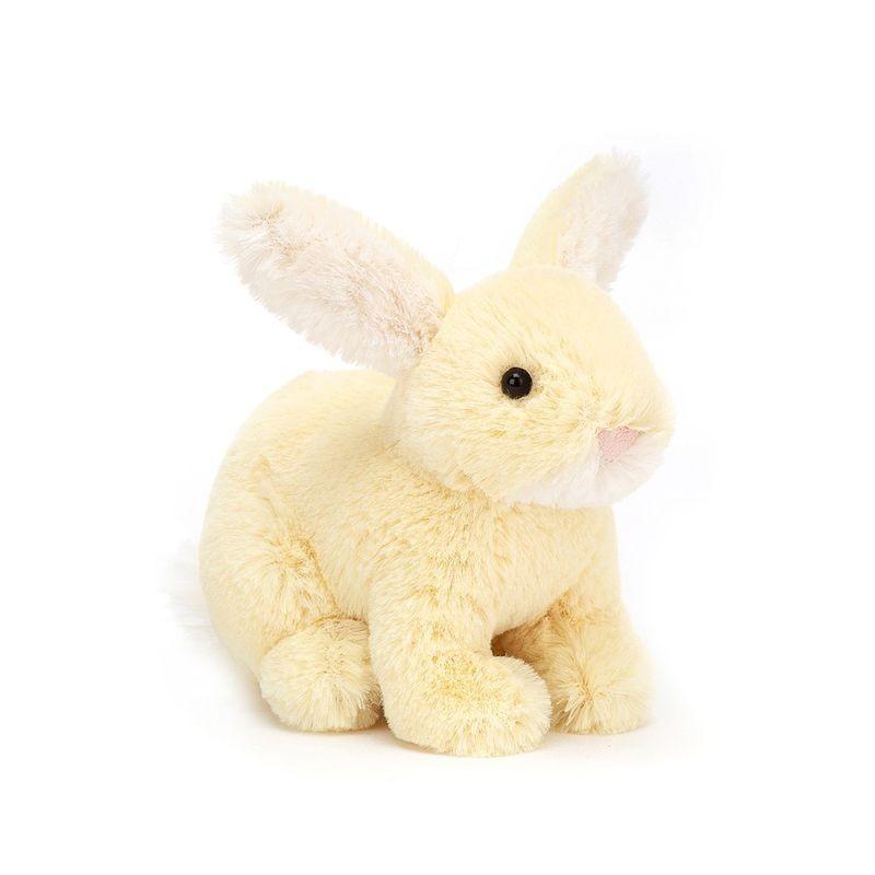 JellyCat Przytulanka cytrynowy królik 10 cm - Pan Talerzyk