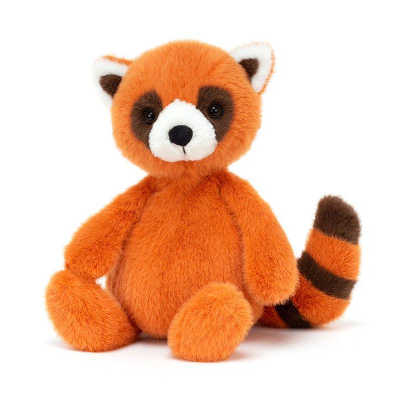 JellyCat Przytulanka czerwona panda Whispit 26 cm - Pan Talerzyk