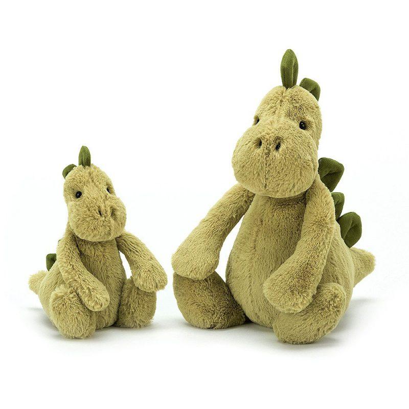 JellyCat Przytulanka dinozaur Bashful 31 cm - Pan Talerzyk