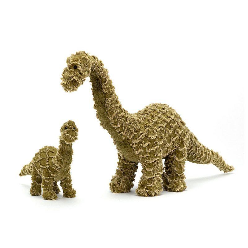 JellyCat Przytulanka dinozaur Diplodocus 34 cm - Pan Talerzyk