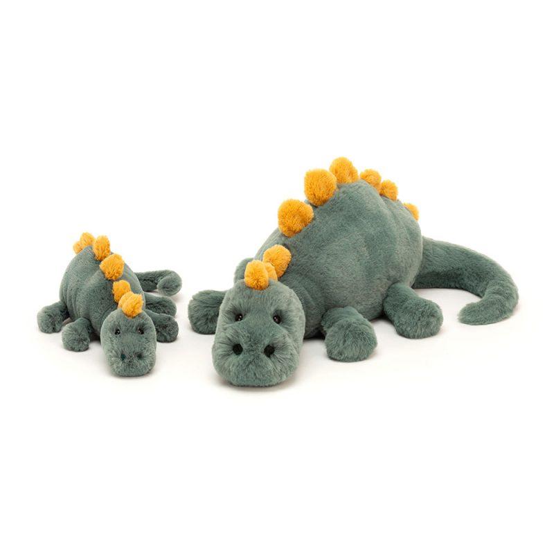 JellyCat Przytulanka dinozaur Douglas 25 cm - Pan Talerzyk