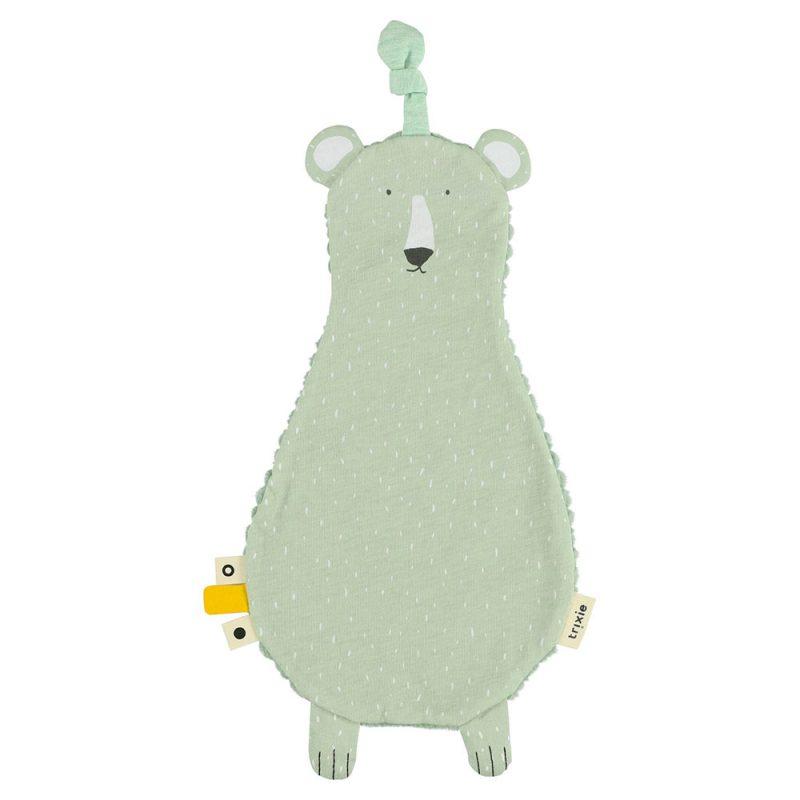 Trixie Baby Przytulanka dou dou do smoczka Mr.Polar Bear - Pan Talerzyk
