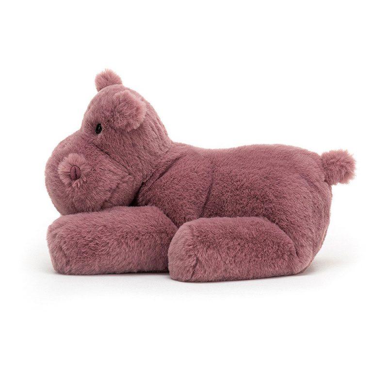 JellyCat Przytulanka hipopotam Huggady 22 cm - Pan Talerzyk