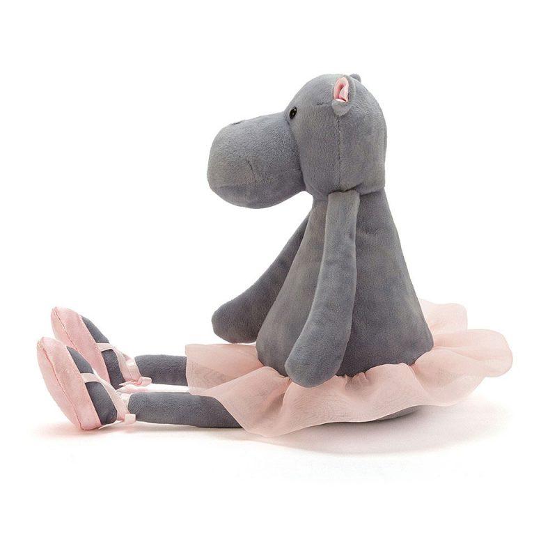 JellyCat Przytulanka hipopotam Tancerka 33 cm - Pan Talerzyk