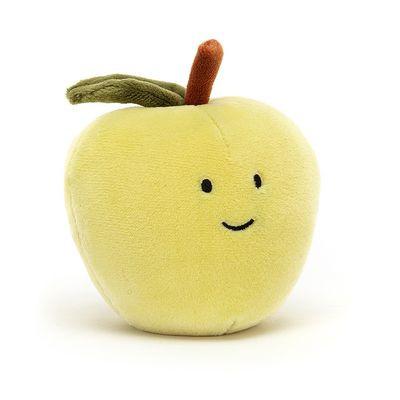 JellyCat Przytulanka jabłko Fabulous 7 cm - Pan Talerzyk