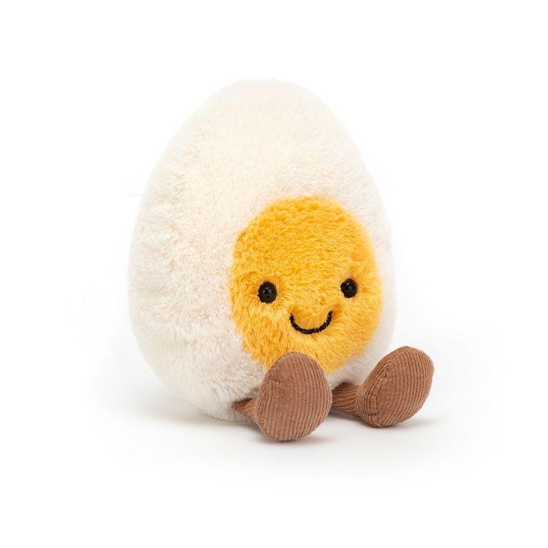 JellyCat Przytulanka jajko gotowane na twardo Amuse 14 cm - Pan Talerzyk