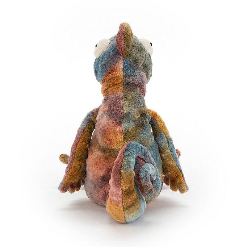 JellyCat Przytulanka kameleon Colin 29 cm - Pan Talerzyk