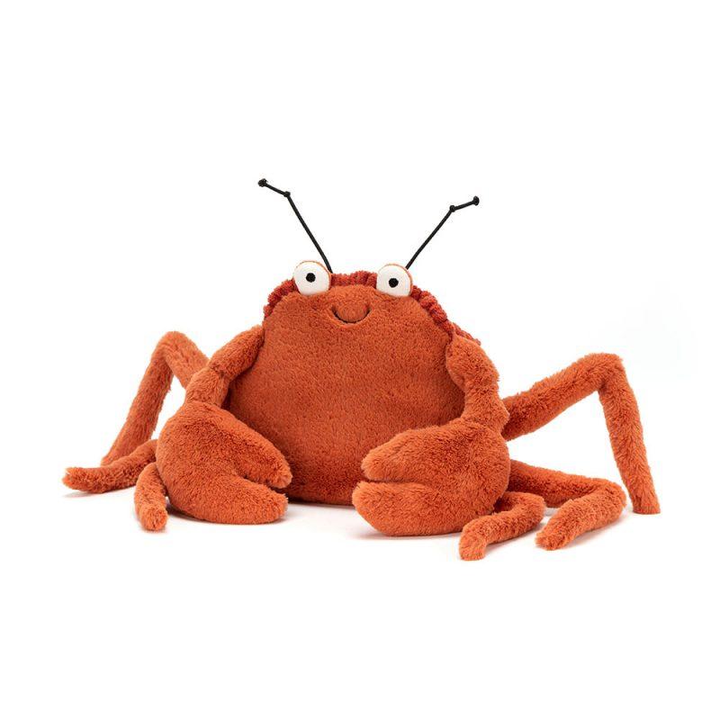 JellyCat Przytulanka krab Crispin 11 cm - Pan Talerzyk