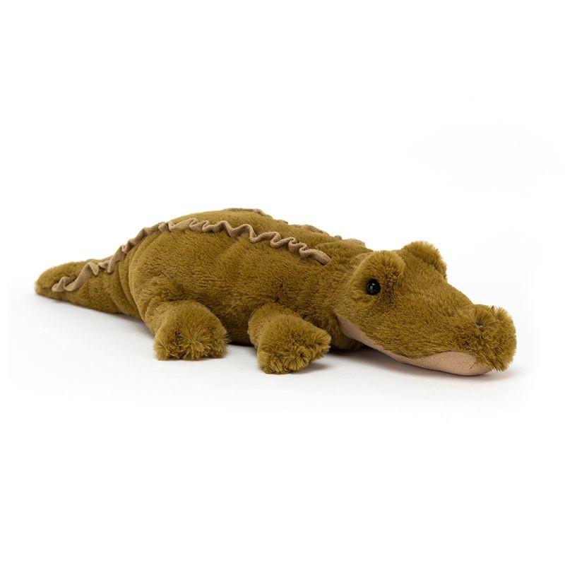 JellyCat Przytulanka krokodyl Lollybob 25 cm - Pan Talerzyk