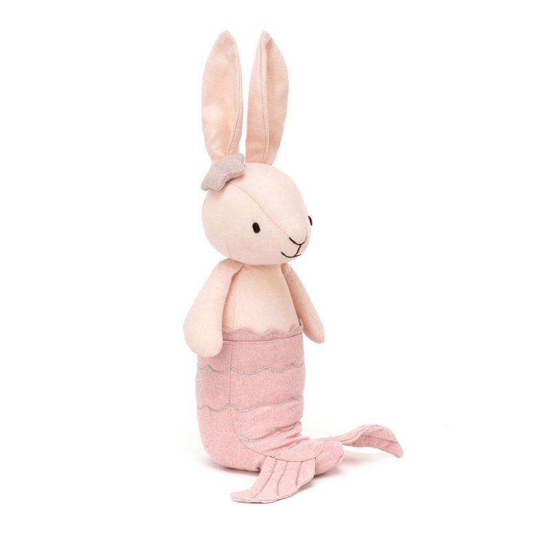JellyCat Przytulanka króliczek syrenka różowa 22 cm - Pan Talerzyk
