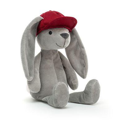 JellyCat Przytulanka królik Hip-Hop 30 cm - Pan Talerzyk